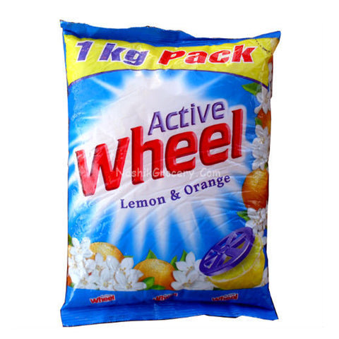 WHEEL DETERGENT POWDER 1KG MRP RS53