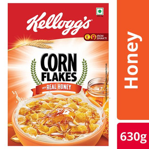 Kelloggs Honey Crunch Corn Flakes, 630 gm