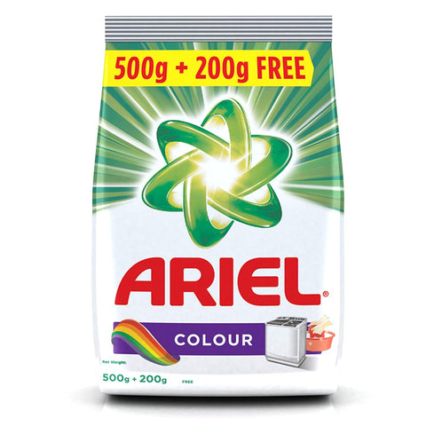ARIEL COLOUR WASHING POWDER 700G MRP RS129