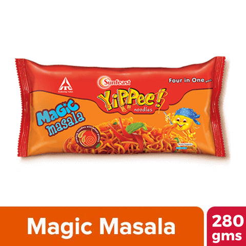 YIPPEE MAGIC MASALA NOODLES 280GM