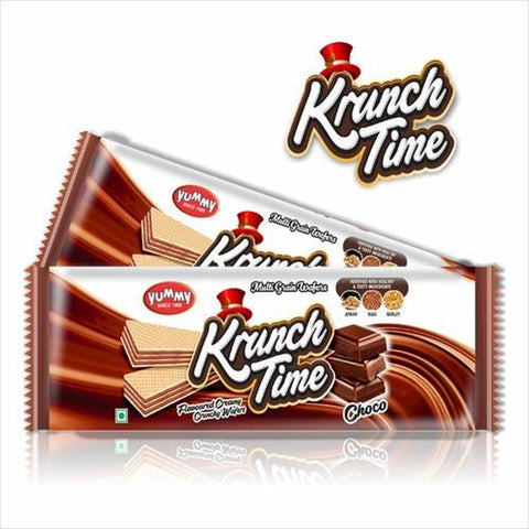 KRUNCH TIME CHOCO WAFER  BUY1 GUT1 FREE MRP RS45