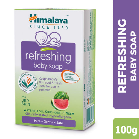 HIMALAYA BABY SOAP REFRESHING 100GM
