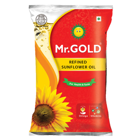 MR.GOLD SUNFLOWER OIL 500GM