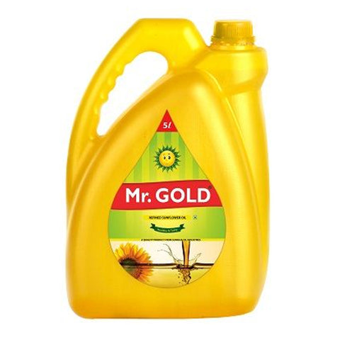 MR.GOLD SUNFLOWER OIL 5LIT