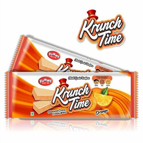 KRUNCH TIME WAFER ORANGE BUY1 GET1 FREE MRP RS45