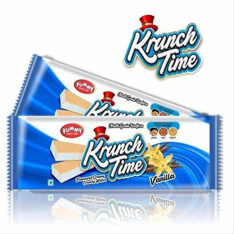 KRUNCH TIME WAFER VANILLA BUY1 GET1 FREE MRP RS45