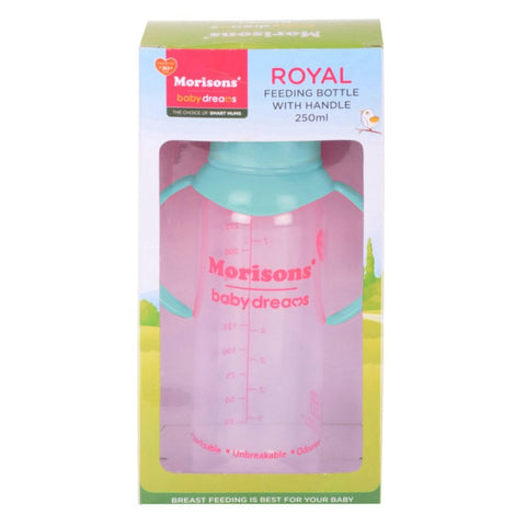 MORISONS ROYAL FEEDING BOTTLE 250ML