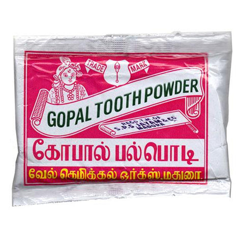 GOPAL TOOTH POWDER MRP RS-7