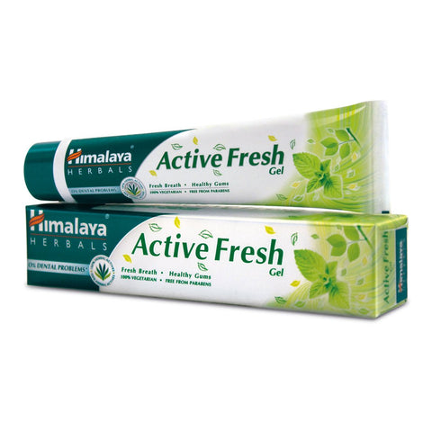 HIMALAYA ACTIVE FRESH TOOTHPASTE 80GM MRP RS48