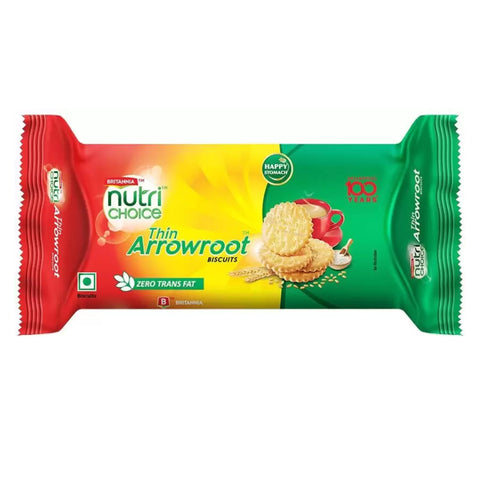 BRITANNIA ARROWROOT BISCUT MRP RS22
