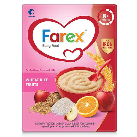 FAREX WHEAT RICE FRUITS 8MONTHS PLUS 300G