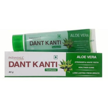 PATANJALI DANTKANTI ALOE VERA TOOTH PASTE 80GM MRP RS50