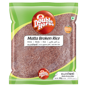DOUBLE HORSE MATTA BROKEN RICE 500GM