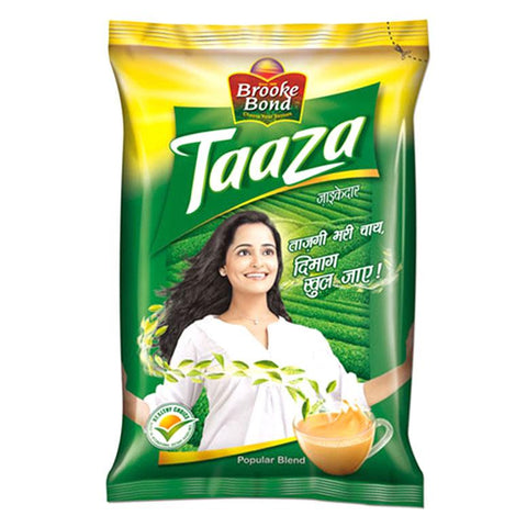 Brooke Bond Tea - Taaza, 500 gm Pouch