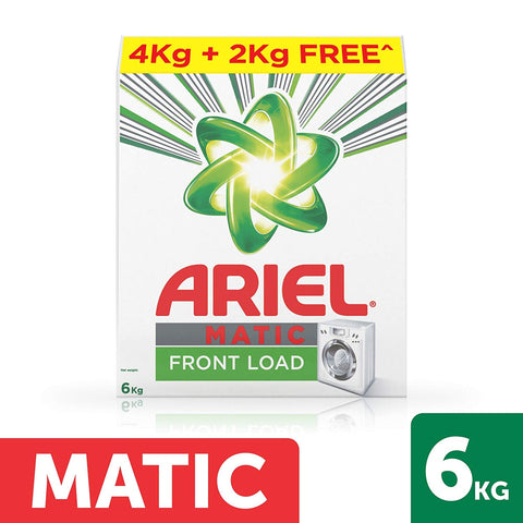 ARIEL FRONT LOAD 4KG PLUS 2KG MRP RS998