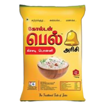 RICE GOLDEN BELL RAJABOGAM RICE 25KG BAG