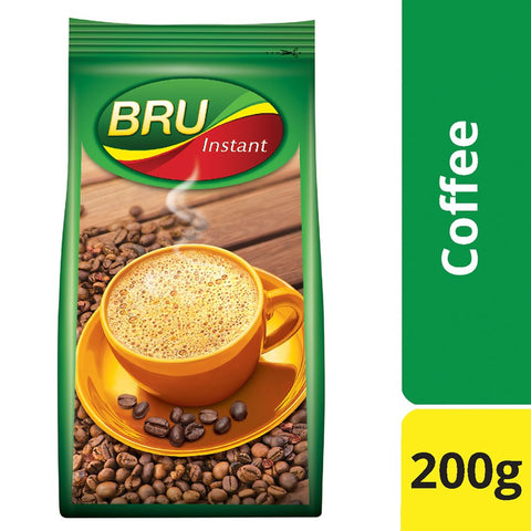 BRU INSTANT PACK 200GM MRP RS320