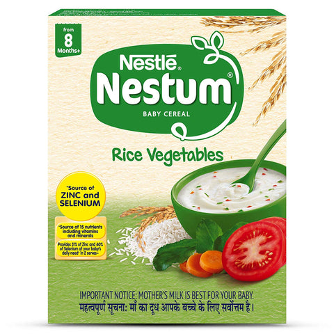 NESTUM RICE VEGETABLES STAGE 2