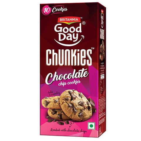 BRITANNIA GOODDAY CHUNKIES MRP RS30
