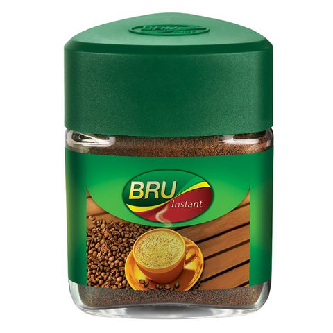 BRU INSTANT NEW GLASS JAR 50GM MRP RS90
