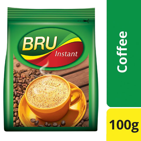 BRU INSTANT PACK 100GM MRP RS165