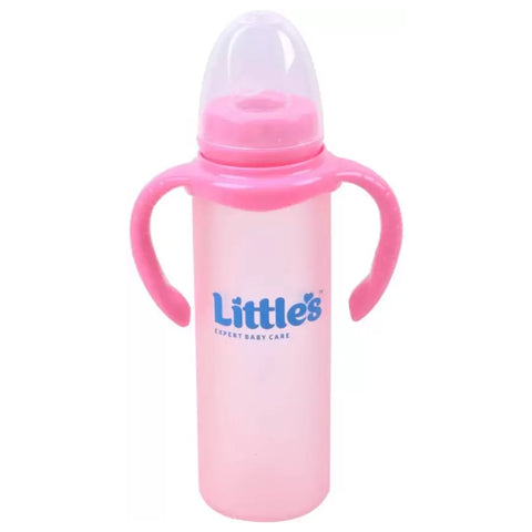 LITTLES GLASS SIPPER PINK 240ML