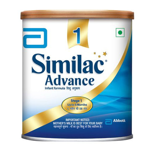 SIMILAC ADVANCE STAGE1 400GM JAR