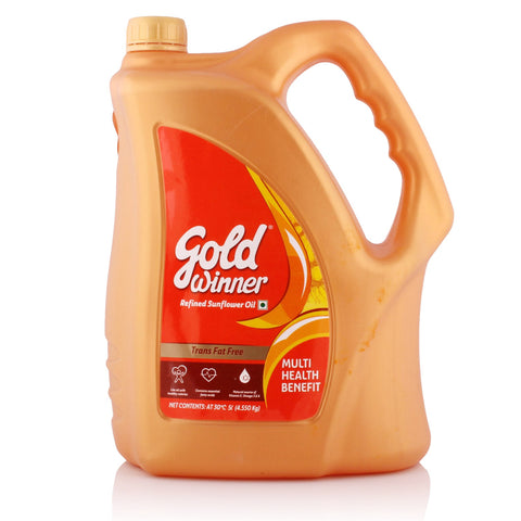 GOLD WINNER OIL 5LTR CAN