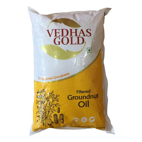GROUNDNUT OIL VEDHAS GOLD MRP RS129