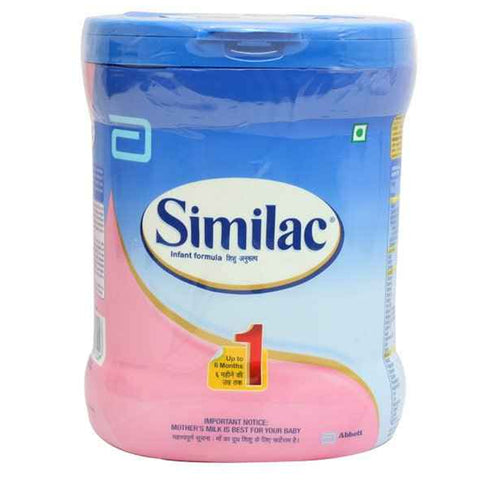 SIMILAC STAGE1 400GM JAR