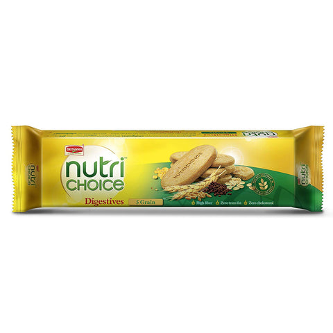 BRITANNIA NUTRI CHOICE 5 GRAIN BISCUIT MRP RS25