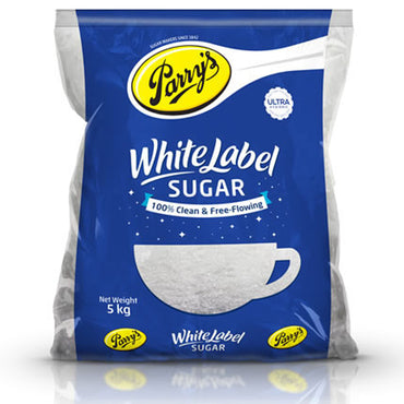 PARRYS WHITE LABEL SUGAR 5KG MRP RS240