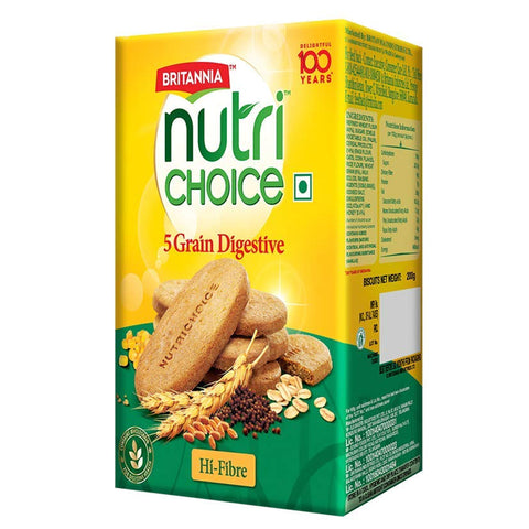 BRITANNIA NUTRI CHOICE 5 GRAIN BISCUIT MRP RS55