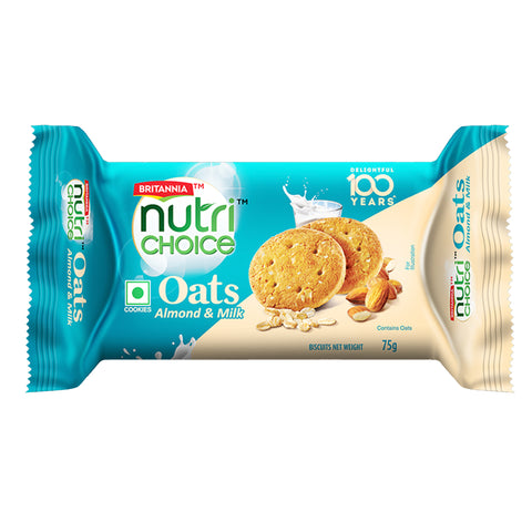 BRITANNIA OATS ALMOND MILK MRP RS25