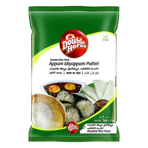 DOUBLE HORSE  APPAM IDIYAPPAM PATHIRI 500GM MRP RS55