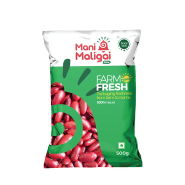 MM RAJMA BEANS 500GM