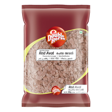 DOUBLE HORSE RED AVAL 500GM MRP RS74