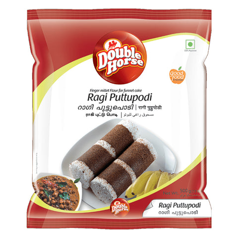 DOUBLE HORSE RAGI PUTTUPODI 500GM MRP RS66