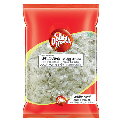 DOUBLE HORSE WHITE AVAL 500GM MRP RS75