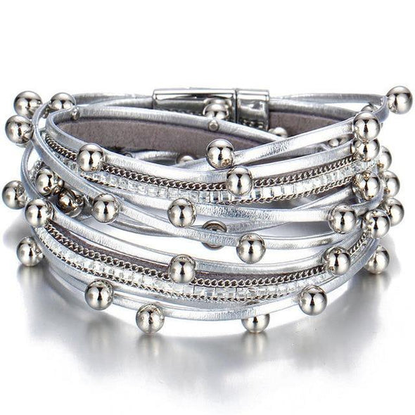 Multiple Layers Charm Bracelet - Chic Sara