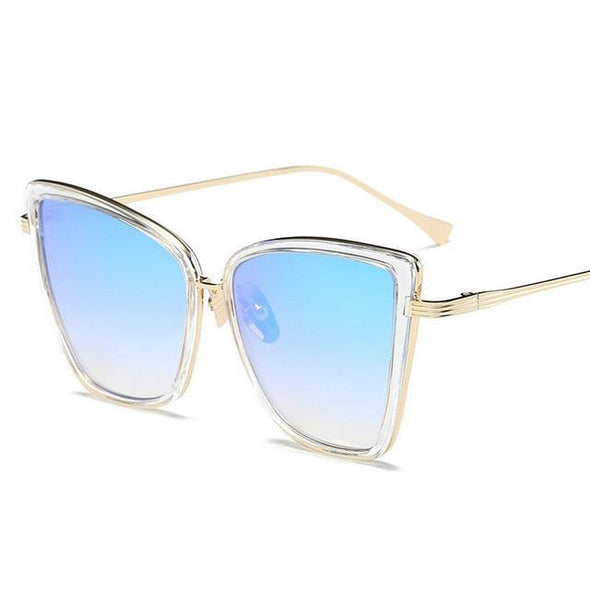 Flat Top Pilot Sunglasses - Chic Sara