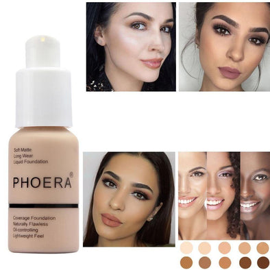30ml Long Wear Matte Finish Foundation