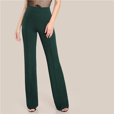 Ginger High Rise Piped Pants