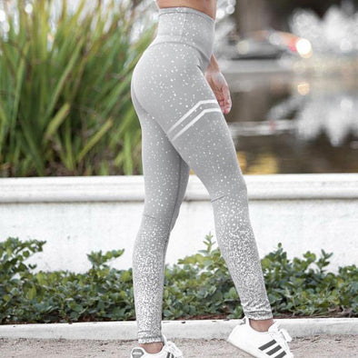 Casual Pink Gym Leggings