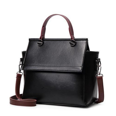 Retro PU Leather Shoulder Bag
