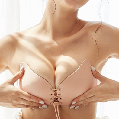 Invisible Bra Super Push Up Seamless Self-Adhesive Sticky