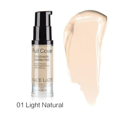6 ml Full Cover Liquid Concealer - Chic Sara