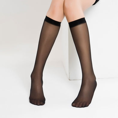 Sexy Transparent Crystal Silk Stockings