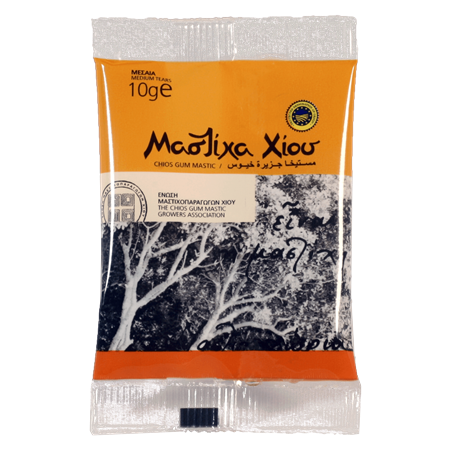 Greek Chios Mastic Gum 10gr 100% Natural Mastiha Resin Real Top Quality Product