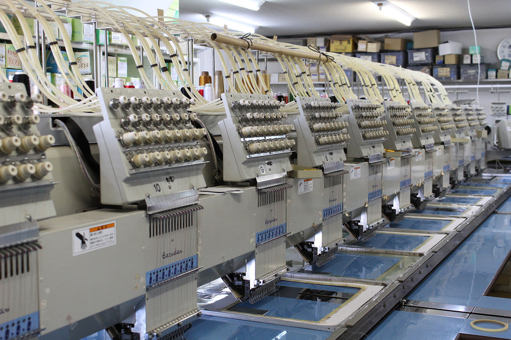 Tatouki, many heads of embroidering machine, KYO-TO-TO